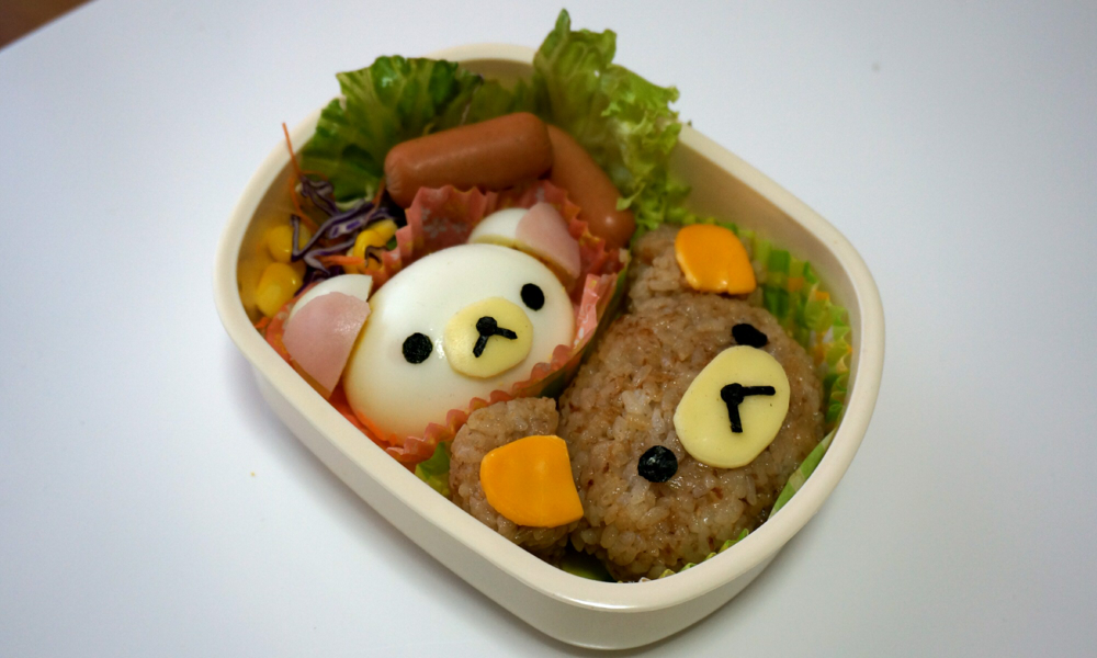 rilakkuma bento (tutorial in description) by minicuteclub