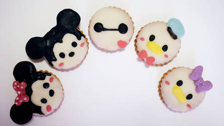 Disney (tsumtsum) cookies! (with tutorial)