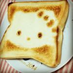 DIY hello kitty toast