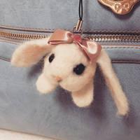 Giveaway! Needle Felting bunny