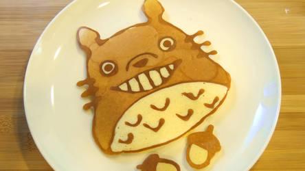 Totoro Pancake Art