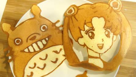 Sailor Moon Pancake Art