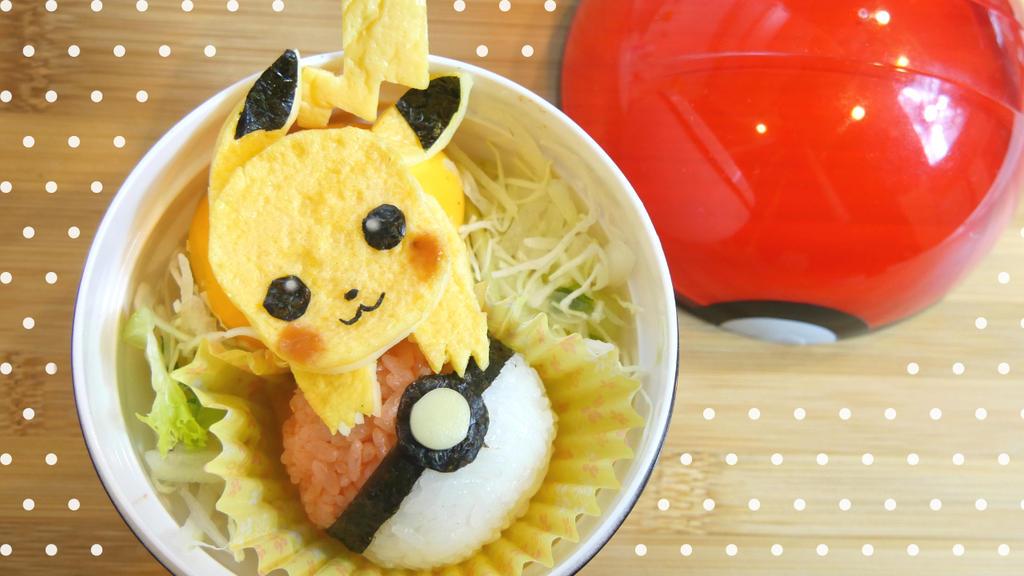 Pikachu bento box tutorial by minicuteclub