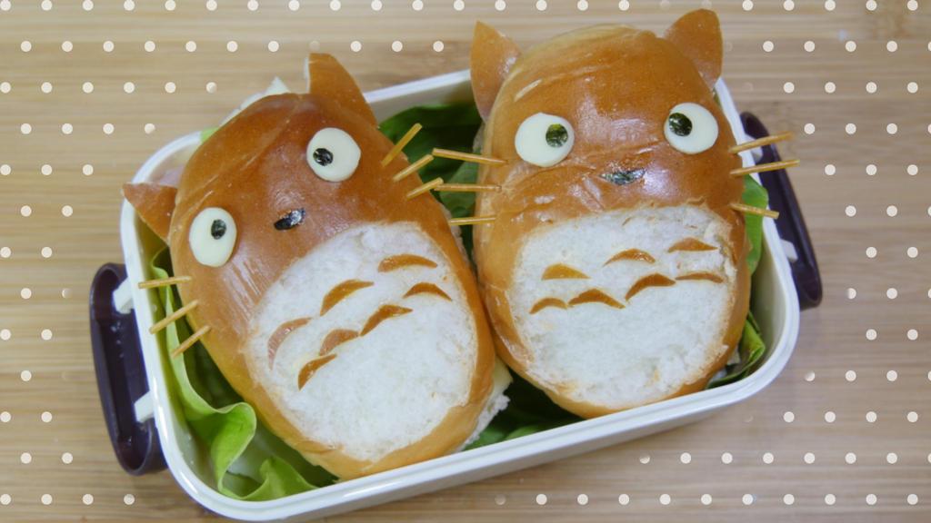 Totoro sandwich! by minicuteclub