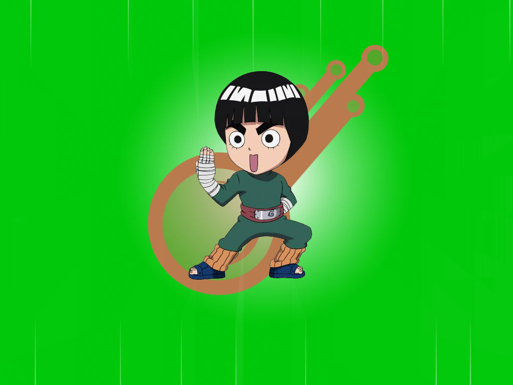 Rock Lee Wallpaper by Jenokawa
