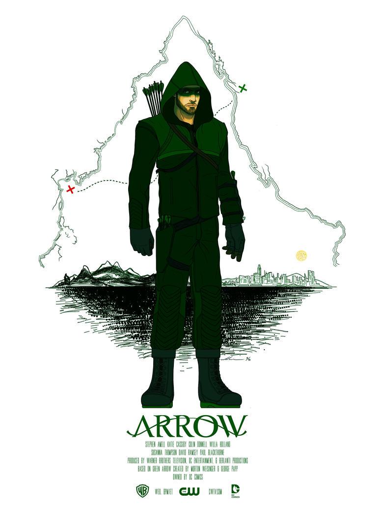 Arrow Fan Poster by destro101