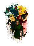 Team Arrow Poster season 2