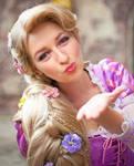Rapunzel Cosplay-thingie