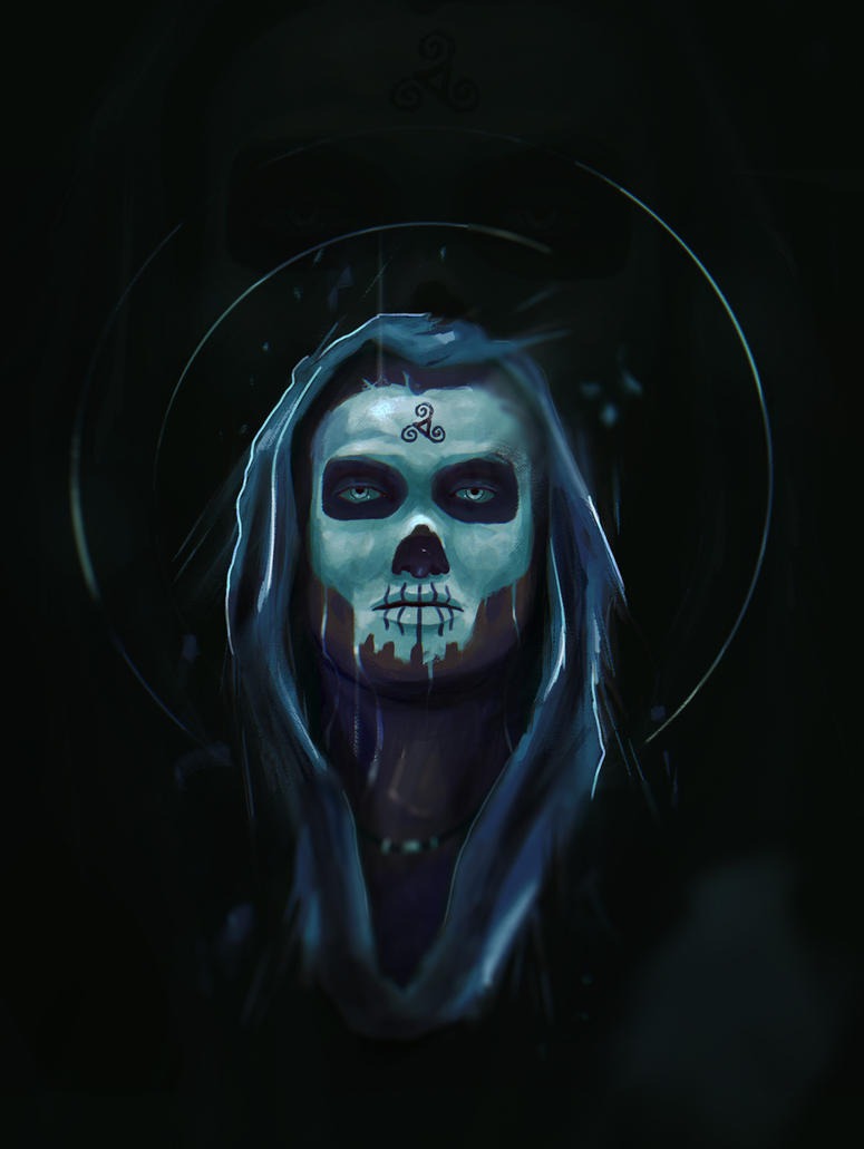 skully july finished by cgartman5on on deviantart
