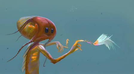 fishman by cgartMan5ON