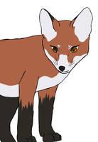 Fox Cub by kitsunesakurano
