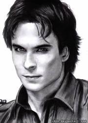Damon Salvatore by Kissa-TR