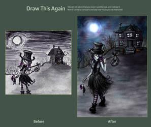 Draw this again: Ociooo by Kissa-TR