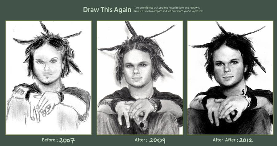 Draw this again: LAURI YLONEN by L0KA