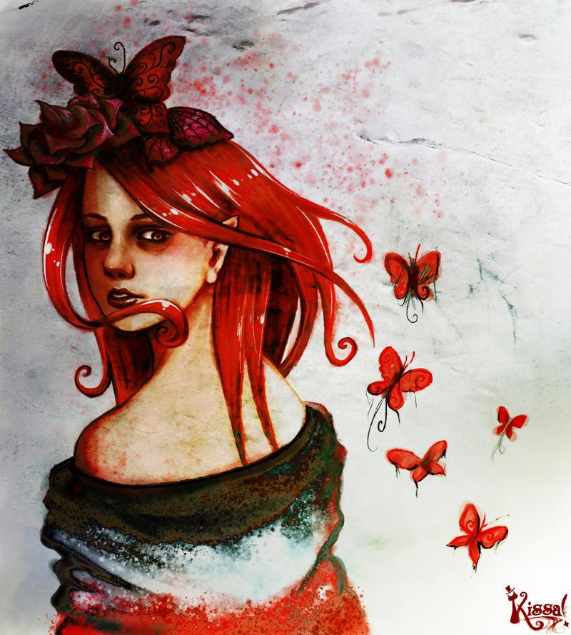 Mariposa Roja by Kissa-TR