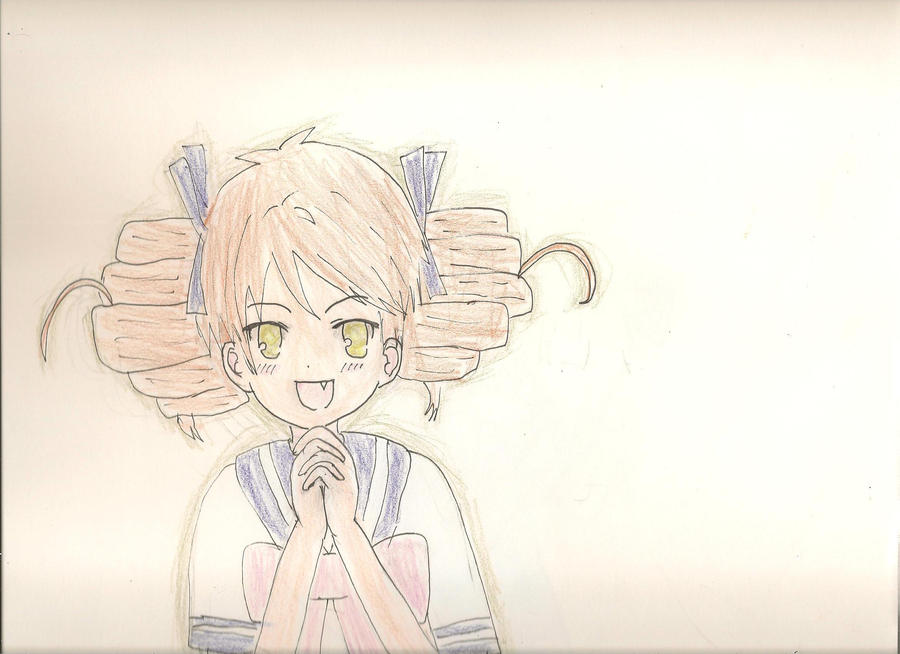 Baka and test Miharu Shimizu by sealandmintbunny