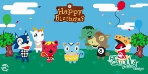 Happy Birthday Wild World