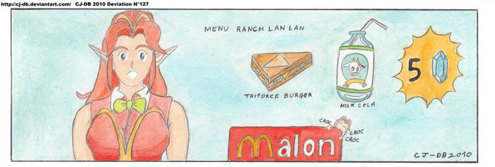 Malon in Macdonalds by CJ-DB