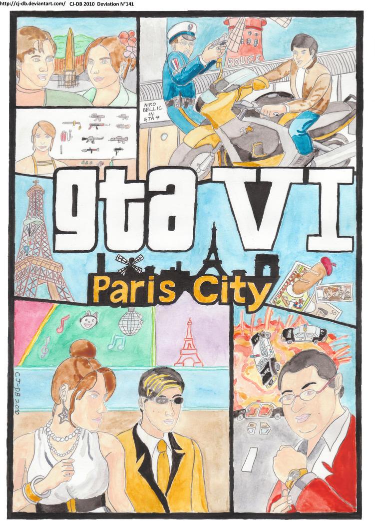 GTA 6 Paris My friends and me by CJ-DB