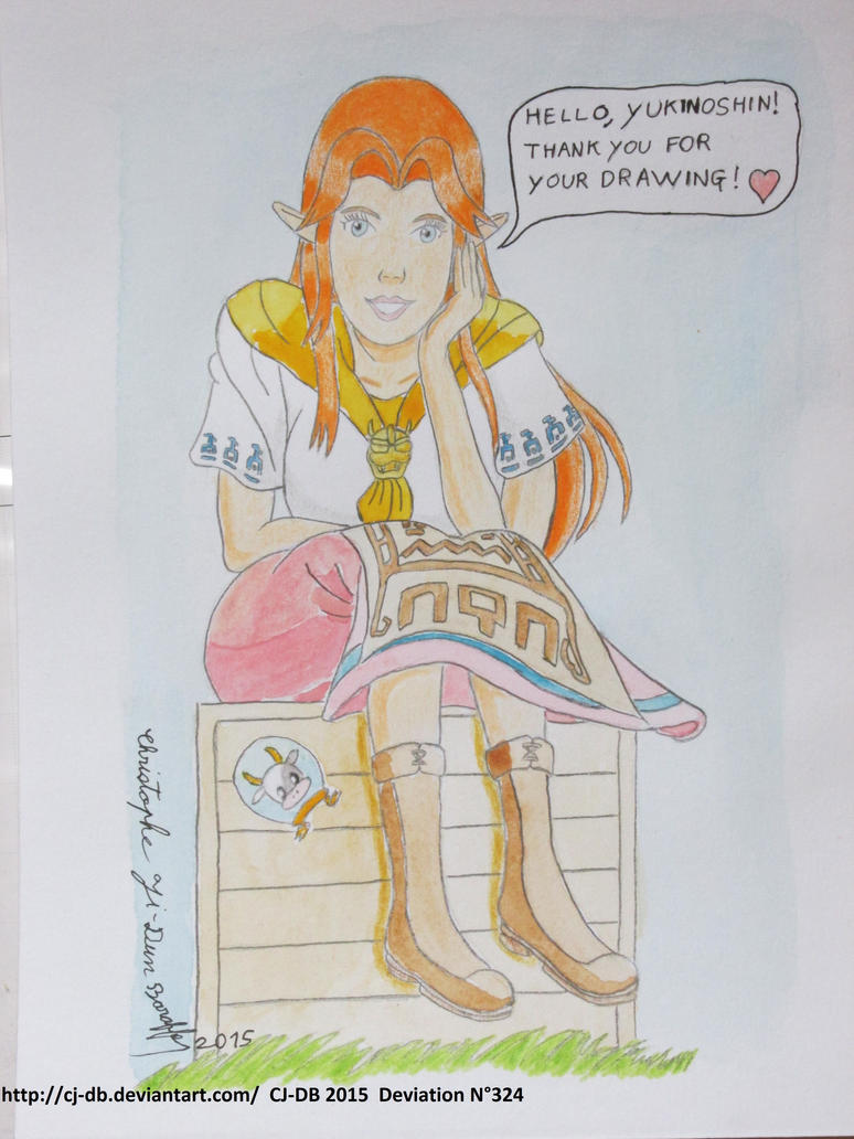 The malon 39 s thanks in ranch by cj db on deviantart for Db ranch