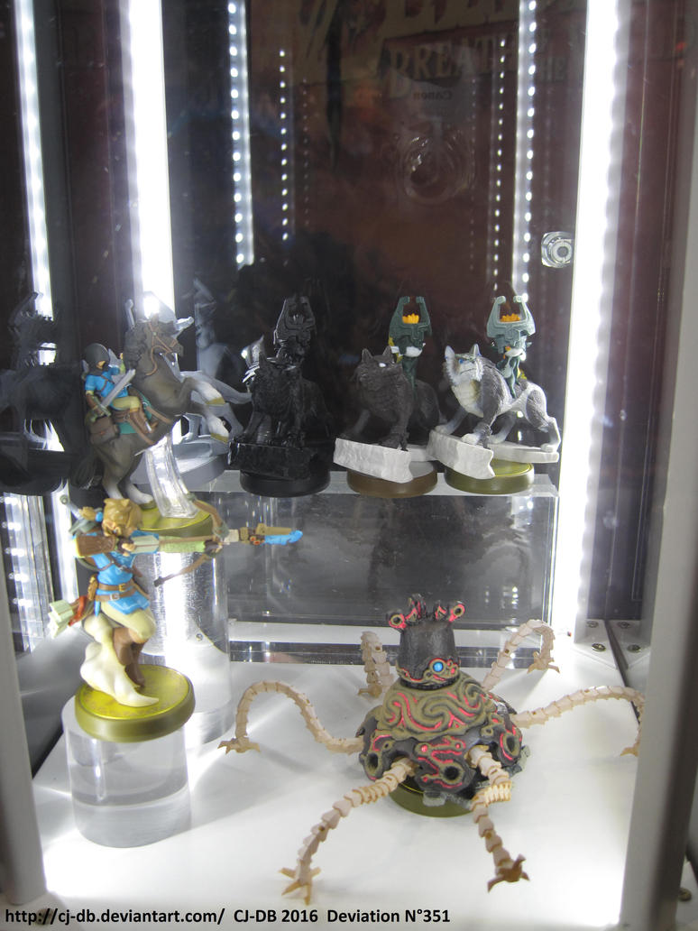 Japan Expo 2016 Zelda Wii U Amiibo by CJ-DB