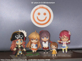 10 years with Nendoroids by CJ-DB