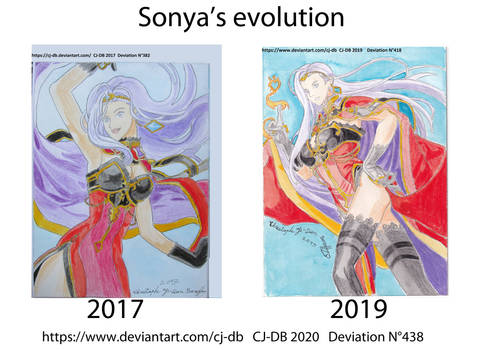 Sonya's evolution