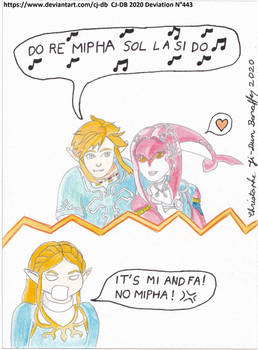The musical notes for Mipha.