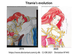 Titania's evolution