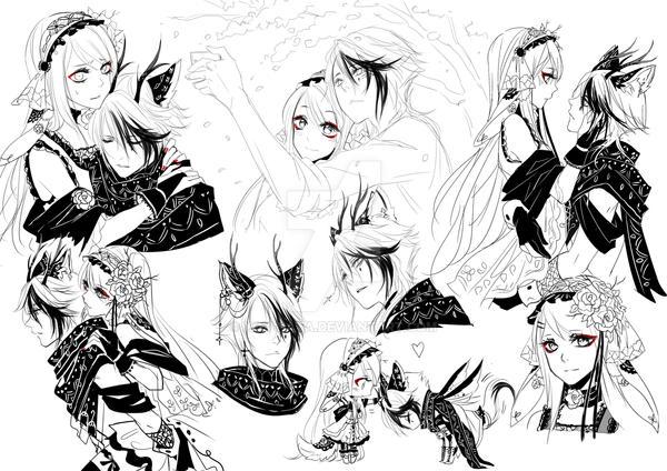 [C] Zero And Sanyu by XOX-Nata