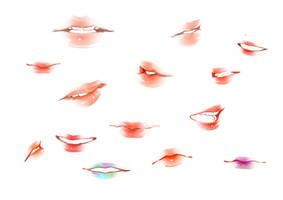 Lips Study by XOX-Nata