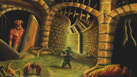 Doom. Meeting with baron. by S-Kerd