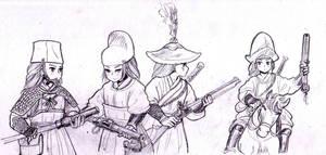 Firearms by ptdtch