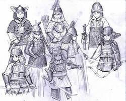 Asian Dynasties by ptdtch