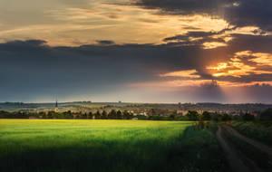 In the fields by MoonKey19