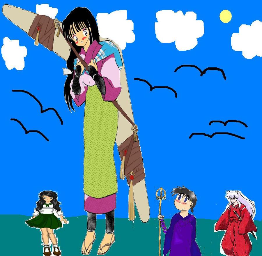 Shrink Anime Boy: Giantess Sango Picture By Sango1994 On DeviantArt