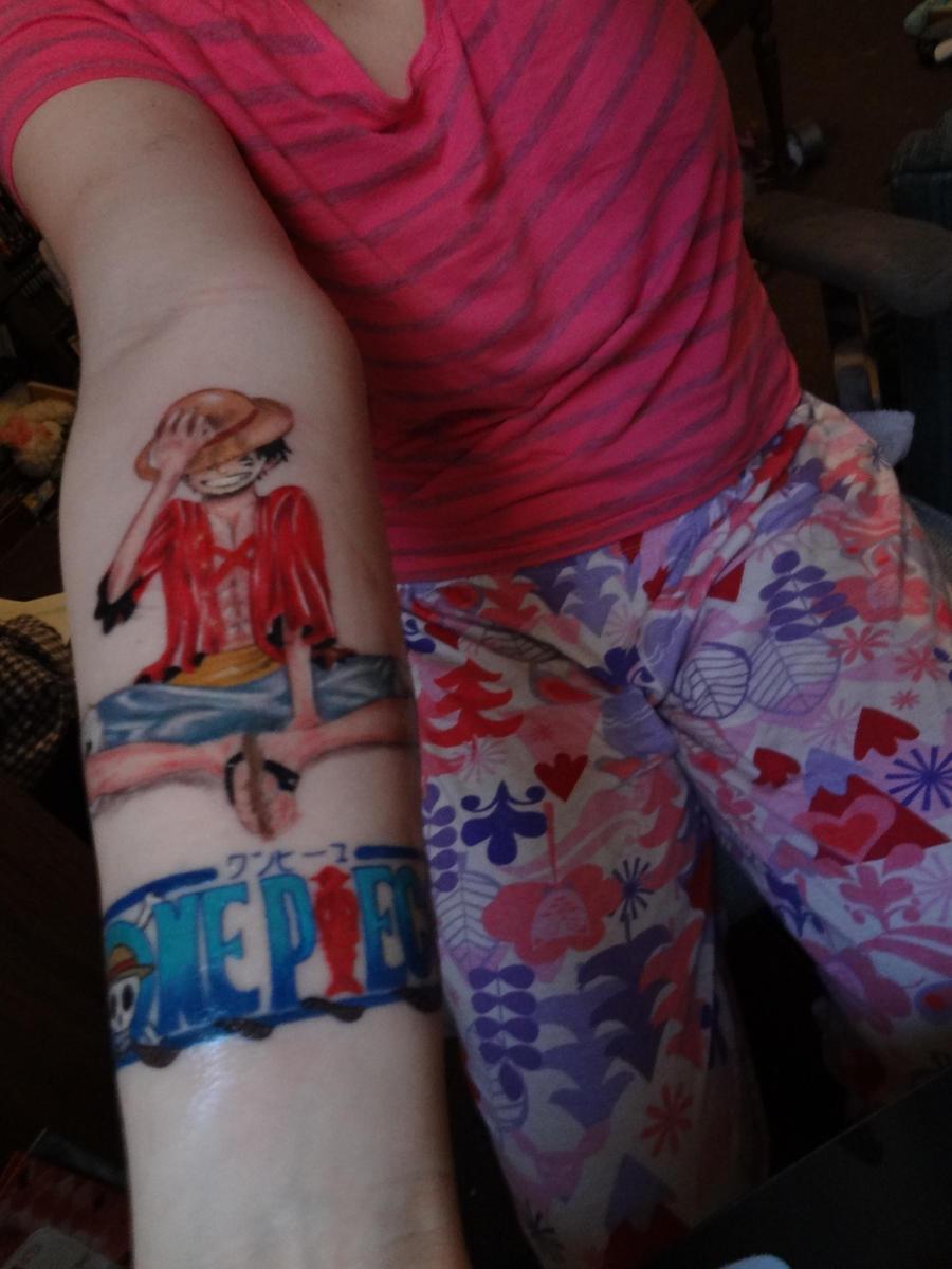 Luffy Tattoo One Piece | www.imgkid.com - The Image Kid ...
