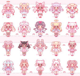 61# Small Pastel Adopts Auction (closed/hold)