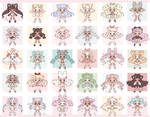 86# Cute Small Adopts Batch Auction (OPEN) FREE SB by Bai-leys