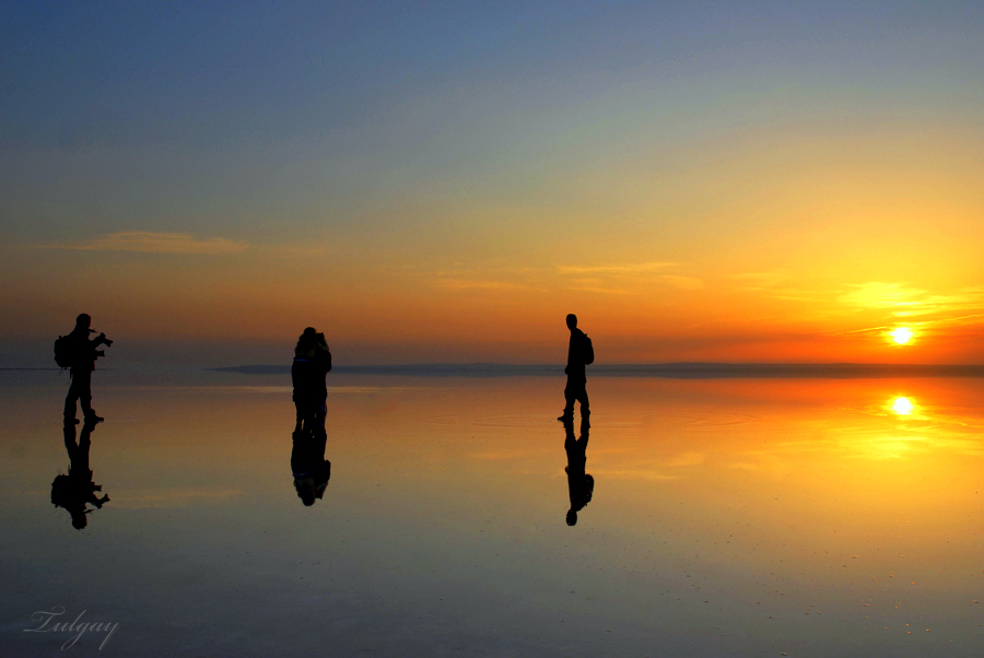 Lake Salt-8 by Tulgay