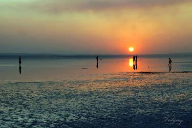Lake Salt-9 by Tulgay