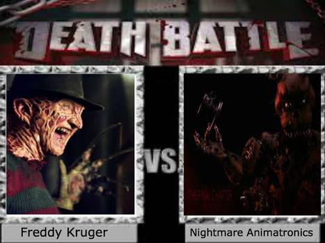 Freddy Krueger vs Nightmare Animatronics