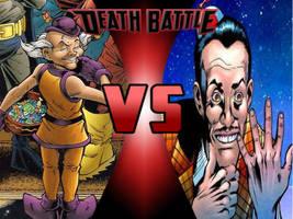 Mr. Mxysptlk vs Mad Jim Jaspers