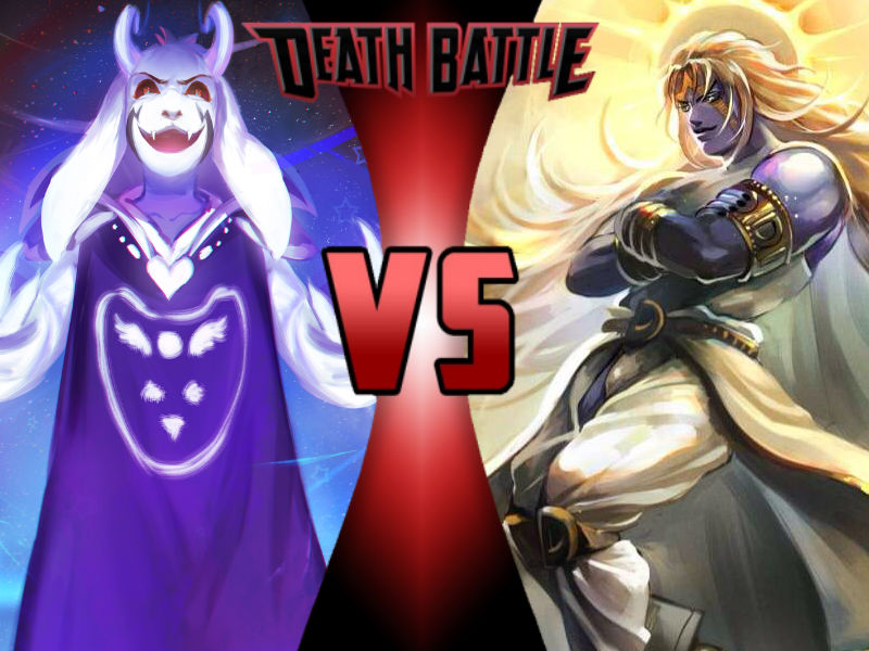 Asriel Dreemurr vs Heaven Ascension DIO by ToxicMouse77 on