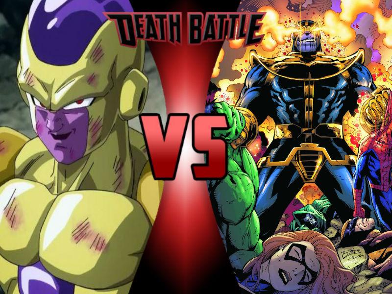 Goku Vs Thanos: Frieza Vs Thanos By ToxicMouse77 On DeviantArt