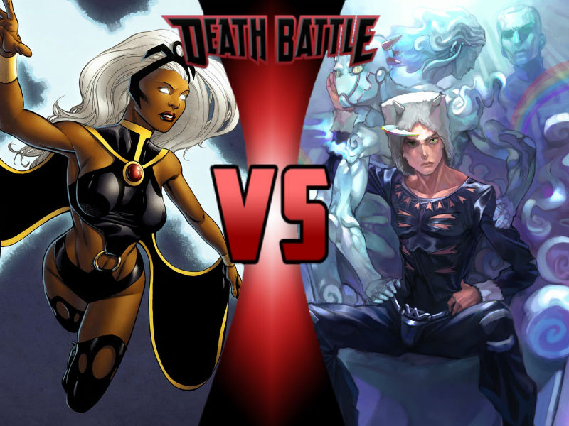 Storm vs Weather Report by ToxicMouse77 on DeviantArt