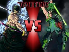 Roronoa Zoro vs Uzu Sanageyama