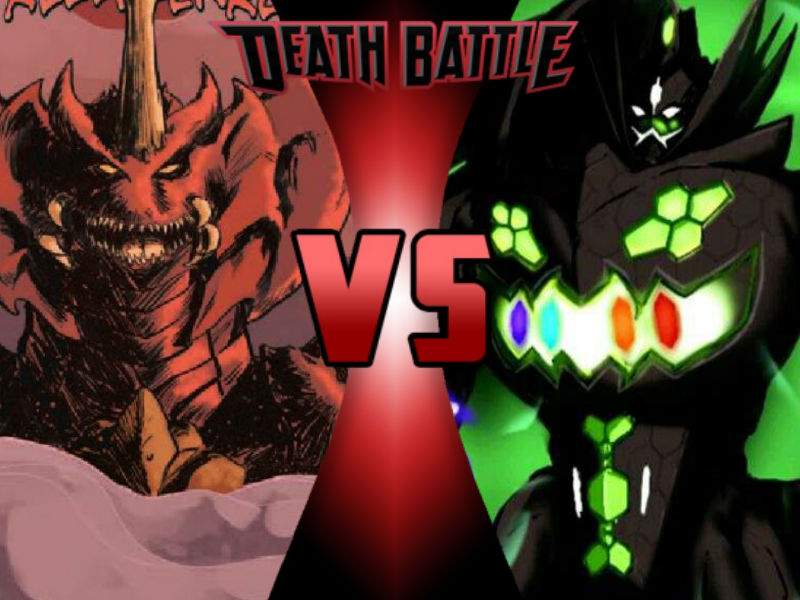 Destroyah vs Zygarde by ToxicMouse77
