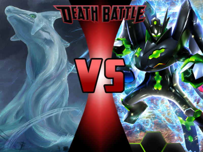 Chaos vs Zygarde by ToxicMouse77