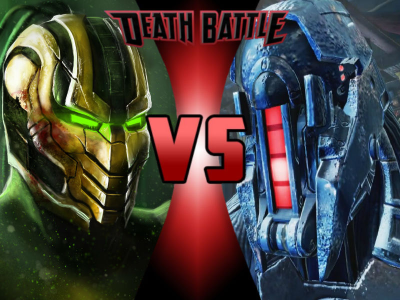 Cyrax vs Kilgore by ToxicMouse77